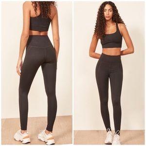 Girlfriend Collective Black High Rise Leggings